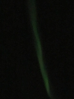 Northern Lights captured by my junky iPhone camera.